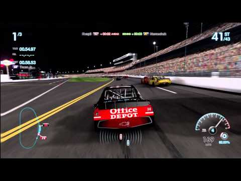 NASCAR The Game: Inside Line Xbox 360 gameplay - Daytona International