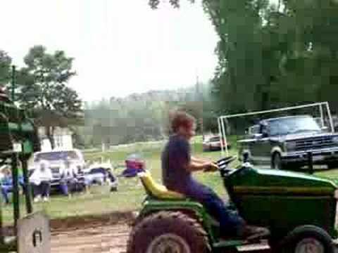 John Deere 445/Cub 16hp ungoverned stock garden tractor.