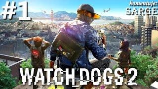 Zagrajmy w Watch Dogs 2 [PS4 Pro] odc. 1 - Hakerski talent Marcusa
