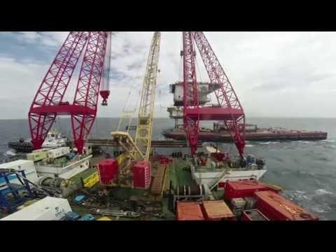 K10-B Platform Decommissioning - Scaldis Salvage & Marine Contractors