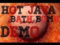 LUSH DEMO: HOT JAVA BATH BOMB 🔥