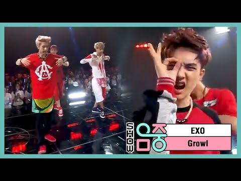 [hot] Exo - Growl, 엑소 - 으르렁, Music Core 20130831 video