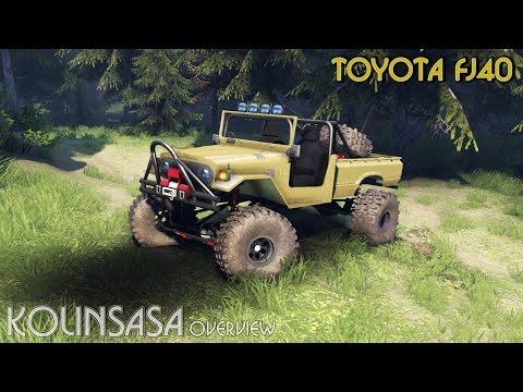Toyota FJ40 Black