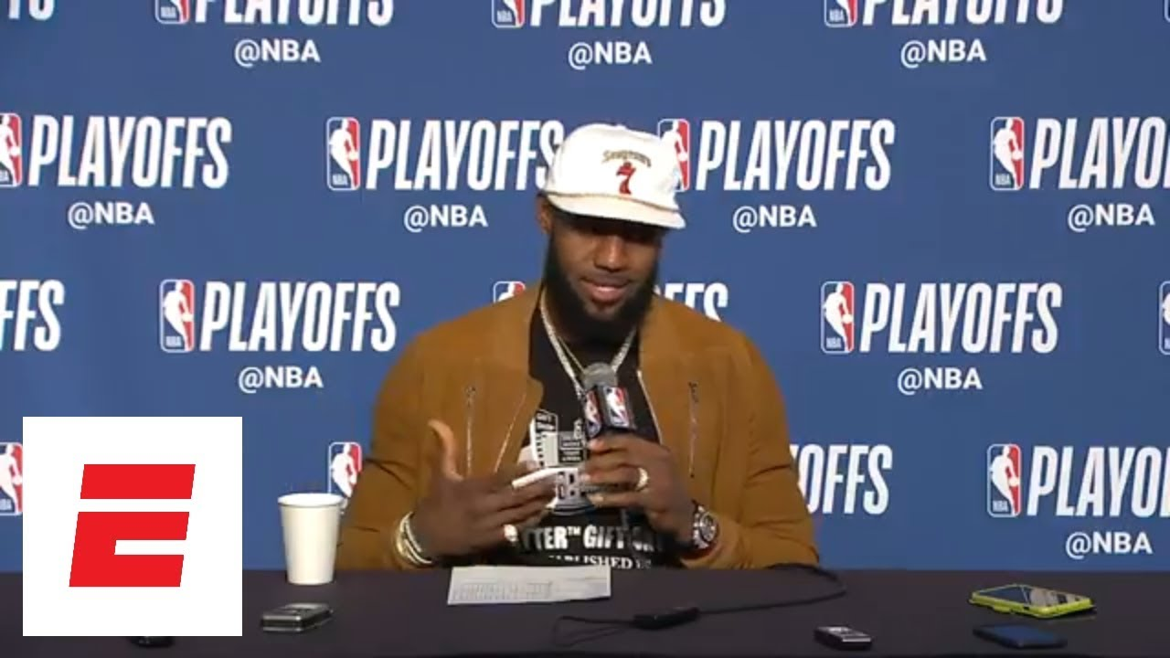 LeBron James on game-winning shot: 'Don't try it at home' | ESPN