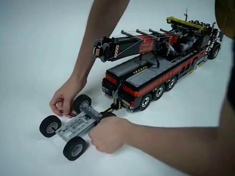 Lego Motorized Tow Truck 2