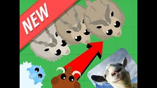 Mope.io  /NEW MARKHOR AND OP BIG GOAT UPDATE/