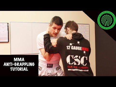 MMA Anti Grappling Techniques Tutorial Image 1