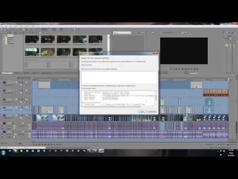 Solution for... SonyVegas pro 11&12 black screen. render crashes. unkown error. .dll errors