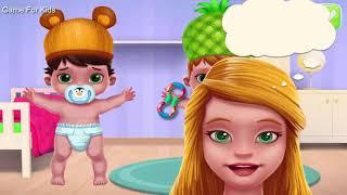 Fun Kids game : Baby Twins - Newborn Care