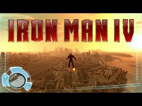 Grand Theft Auto IV : Iron Man IV (mod) FR HD