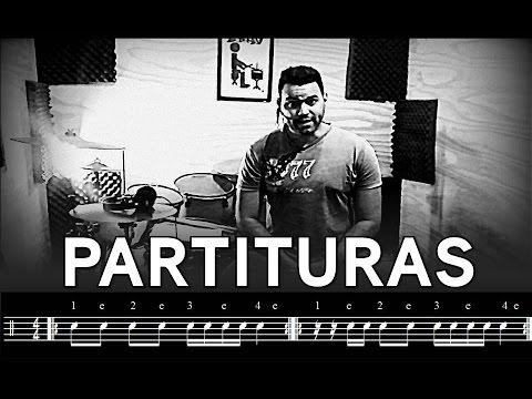 PARTITURAS DE BATERIA - AULA DE BATERIA