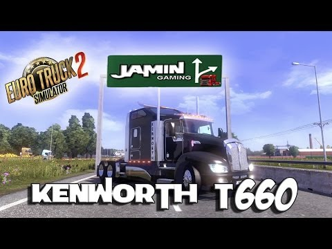 Euro Truck Simulator 2 - Kenworth T660 with Track IR