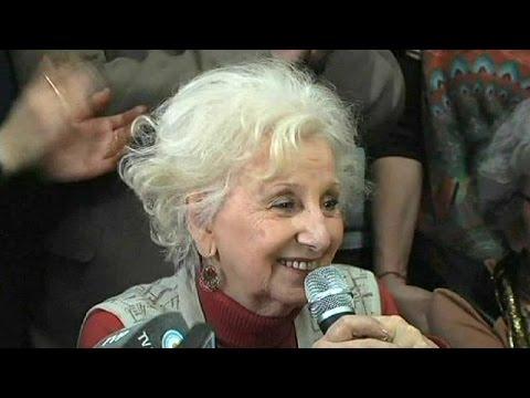 Argentina: Estela de Carlotto incontra il nipote