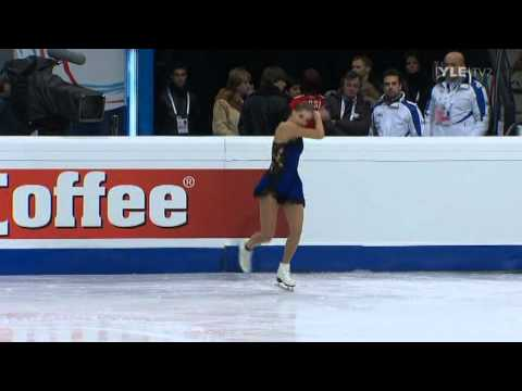 Carolina Kostner - Short Program - 2011 European Figure Skating Championships