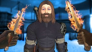 Is GLADIATOR JESUS the STRONGEST CHAMPION?! || Blade and Sorcery VR HTC Vive Pro Gameplay Part 1