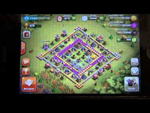 How to win in clash of clans (Farming explained)