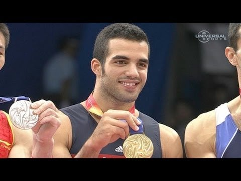 Danell Leyva bounces back for gold