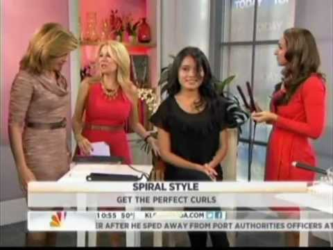 How To Curl Hair - Grace Gold for The Today Show