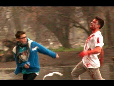 Zombie en la calle