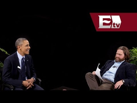 Zach Galifianakis desafía en entrevista a Barack Obama  / Andrea Newman