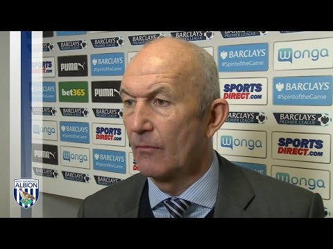 Tony Pulis discusses Albion's 1-0 defeat by Newcastle United in the Premier League