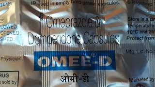 Omee D capsule | gastric tablet review | uses | side effects | How to use | advise and precautions