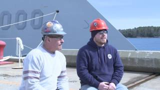 Bath Iron Works Crew Receives 2016 Central & Mid Coast Red Cross Rescue at Sea Award