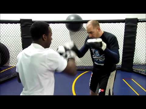 Focus Mitts for MMA: Speed and Power Drill 1 Image 1