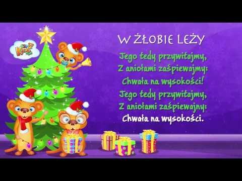 Polskie Kolędy - W Żłobie Leży + Tekst (karaoke)
