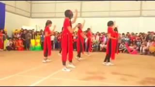 Shuffle dance seve & cô tấm ngày nay___Học SInh a1k42 Phan thúc trực