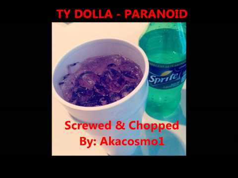 Ty Dolla $ign - Paranoid (screwed & chopped)