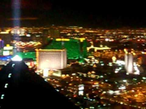 mandalay bay view of the las vegas strip from the top