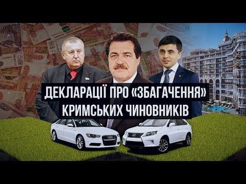 Як кримські чиновники поміняли Таврії на Лексуси | Крим.Реалії