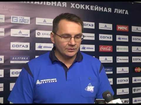 Андрей Назаров ответил на вопросы после благотворительного матча