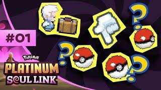 Pokemon Platinum Soul Link - EP01 | THE EPIC CHALLENGE AWAITS!