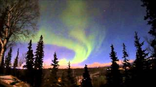 video Testing my new Brinno TLC200 Pro time lapse camera by shooting Aurora Borealis displays over the Chugach Mountains near the communities of Wasilla and Palmer...