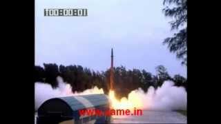 Agni-2 Ballistic Missile launch by India's Strategic Forces Command [SFC] - 2012.08.09