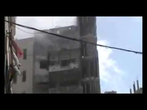 Assad Punks Kofi Annan pt1   Bombs Homs City on Truce Day 10 April 12
