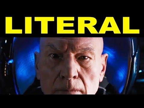 LITERAL X-Men: Days of Future Past Trailer
