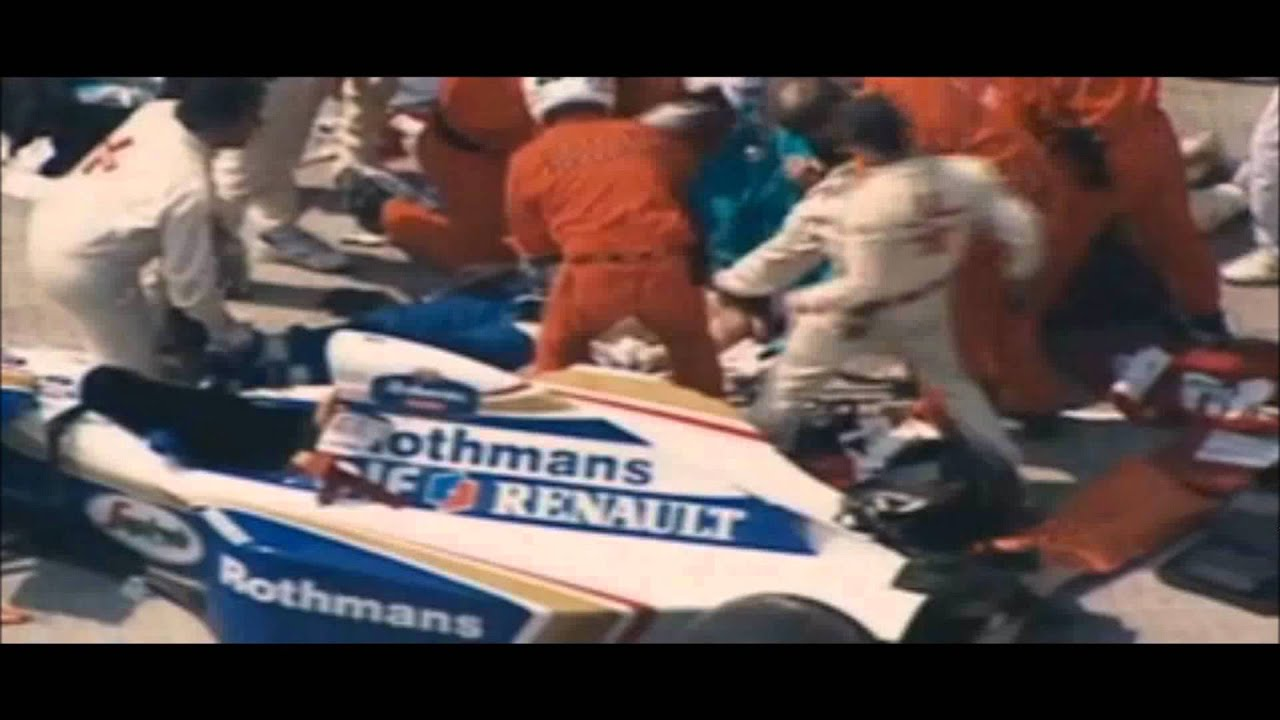Ayrton Senna Body After Crash Ayrton Senna Crash Injuries Senna Last Moments of Ayrton