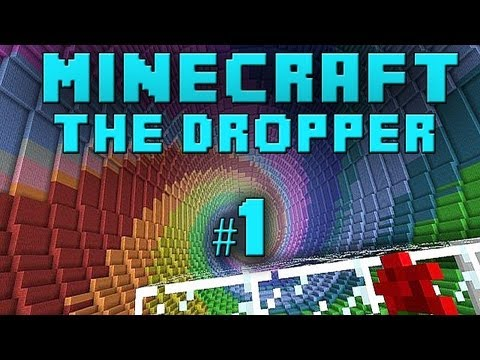 Minecraft Xbox - The Dropper - Part 1