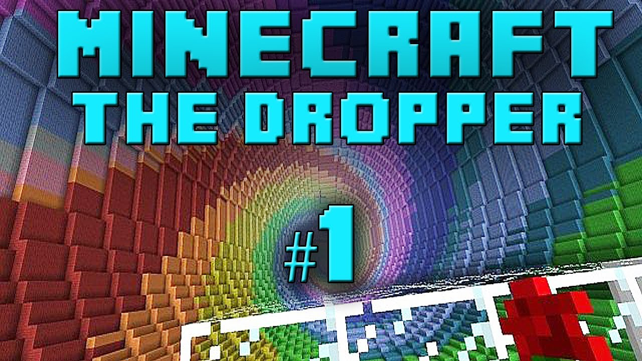 Minecraft Xbox The Dropper Part 1 YouTube