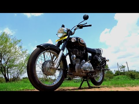 #Bikes@Dinos: Royal Enfield Bullet 350 Standard Walkaround Review, Test Ride, Exhaust Note
