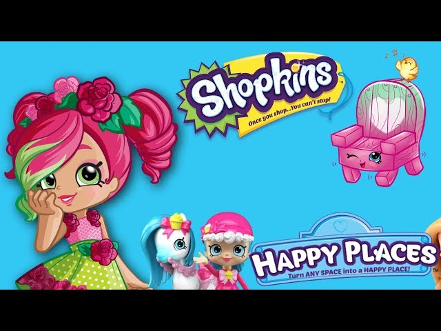 Shopkins Happy Places • Zachcianki kucyka • Ogródek Shopkins • bajka po polsku