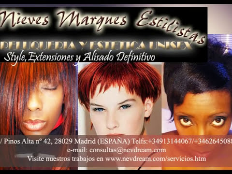 Sew in hair extensions for baldness problems. Extensiones cosidas para problemas de calvicie.