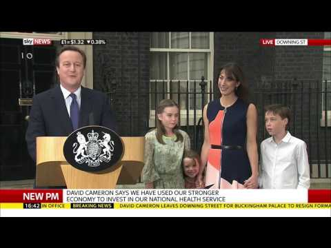 David Cameron's Final Speech As PM