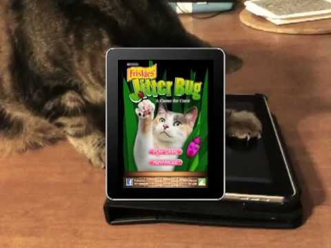 Friskies® Games for Cats presents Jitterbug!