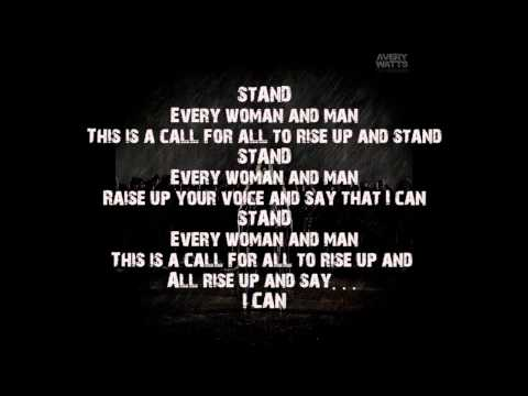 Avery Watts - stand (album Version) - Song With Lyrics video