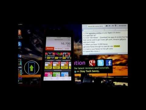 How to get ANY AppStore App FREE (No Jailbreak Required) + iTunes & Amazon Gift Cards