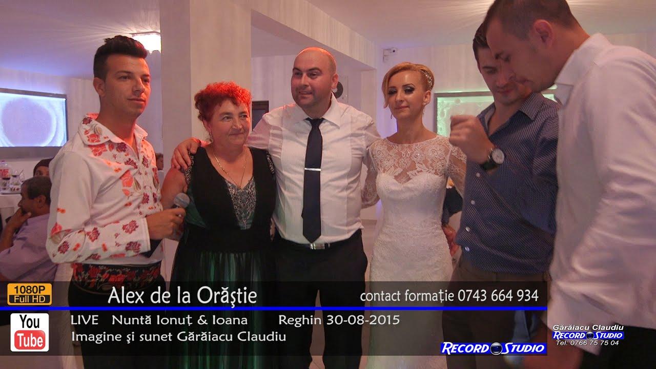 Alex de la Orastie - Mama draga / Colaje LIVE Nunta Ionut & Ioana 30-08-2015
